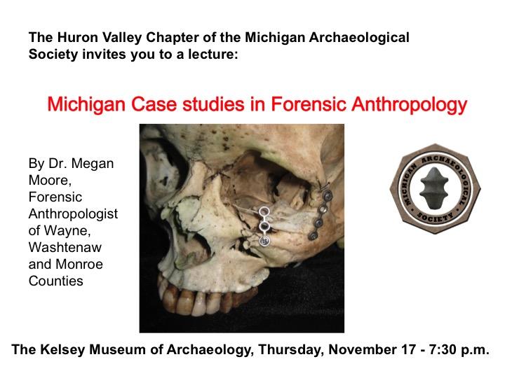 Expired Michigan Case Studies In Forensic Anthropology Happening Michigan