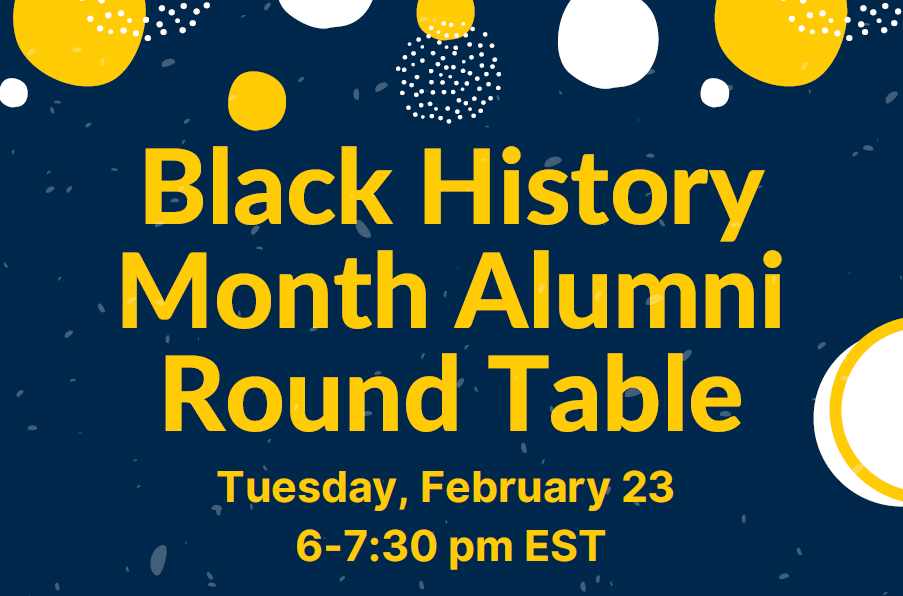Black History Month Alumni Roundtable, Michigan Round Table