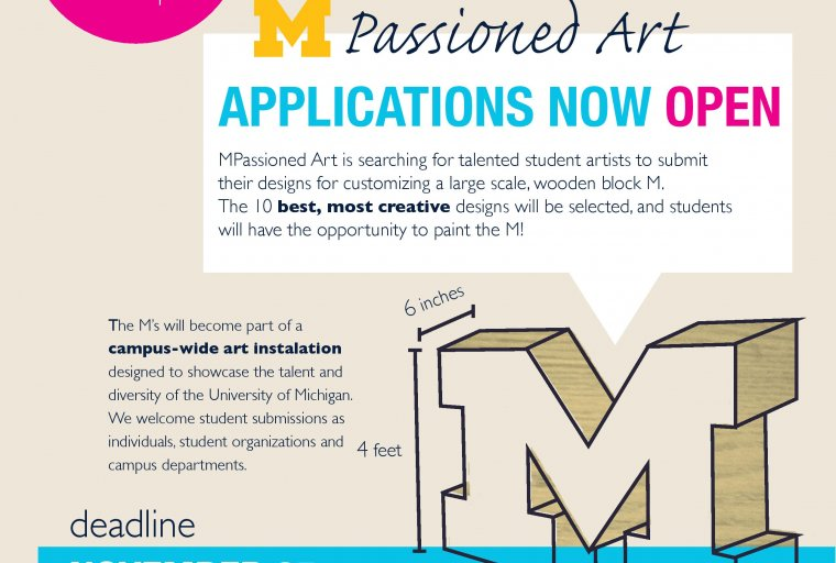 MPassioned Art applications being accepted until 11/25