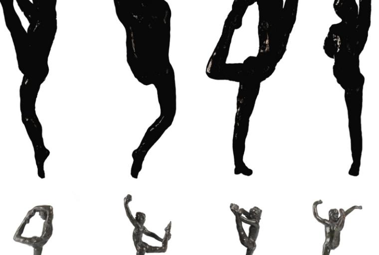 Auguste Rodin, Dance Movement B, Dance Movement C, Dance Movement E, Dance Movem
