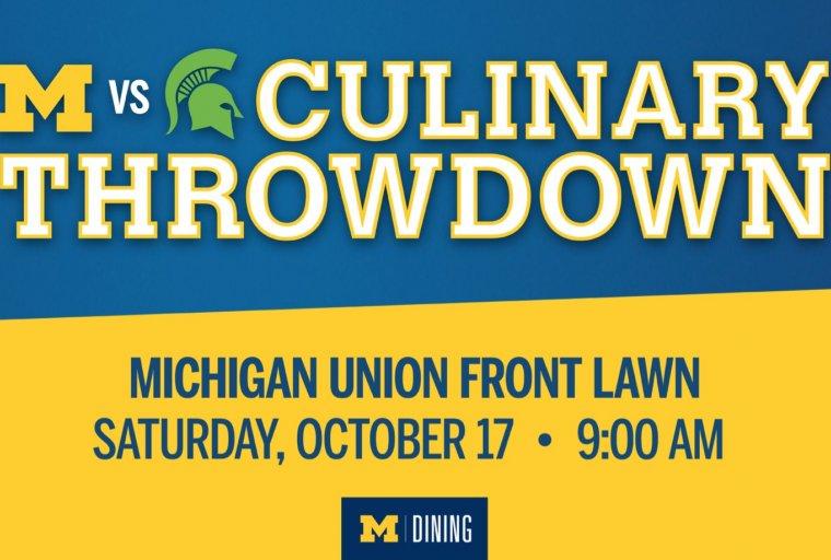 UM vs MSU Culinary Throwdown