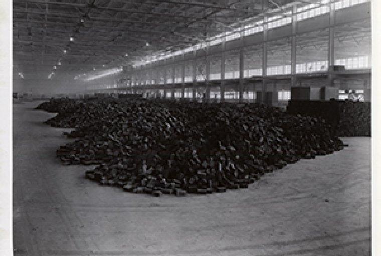 Willow Run Bomber Plant under construction, Ypsilanti, MI., 1941. Albert Kahn an
