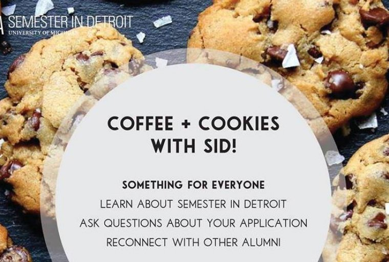 SiD Coffee & Cookies Flyer