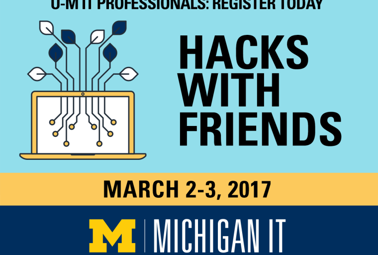 Hacks with Friends March 2-3, 2017