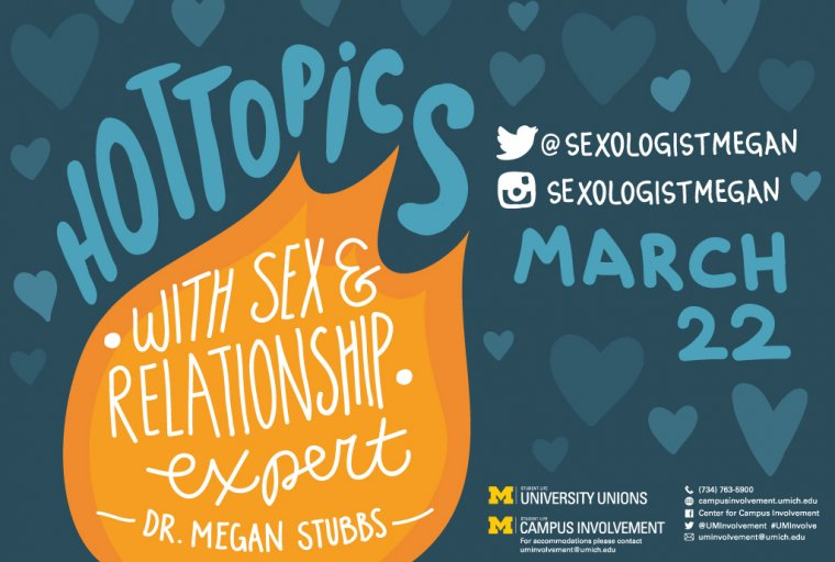 Hot Topics with Sex & Relationship Expert Megan Stubbs