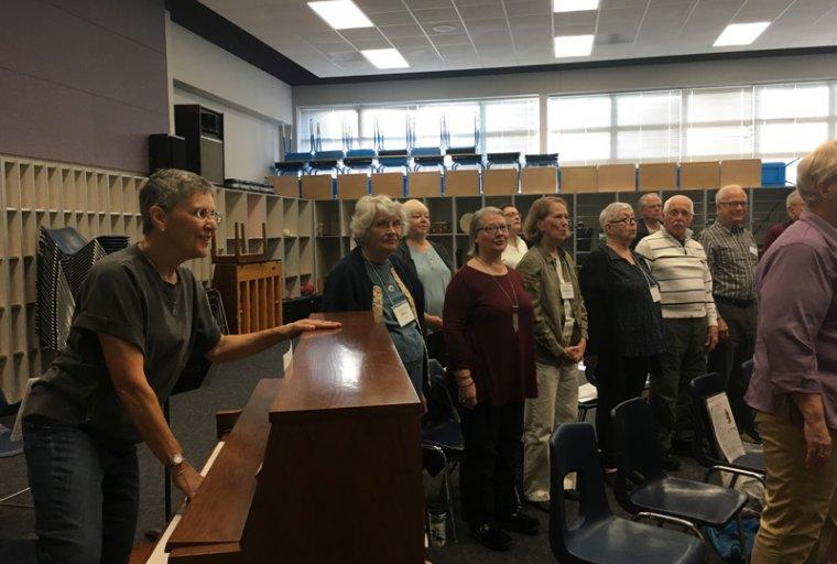 Voices Valiant Adult Choir Performance