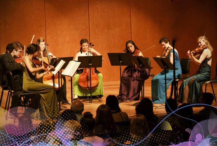 Center Stage Strings Final Student Recital