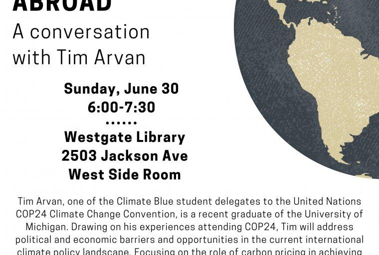 Tim Arvan Talk