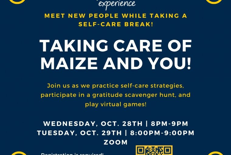 Taking Care of Maize and You Flyer