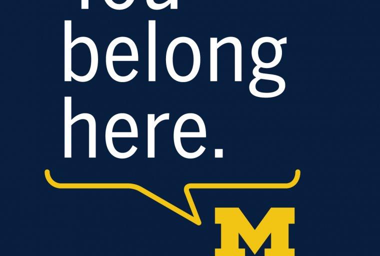 Michigan Housing You Belong Here Slogan