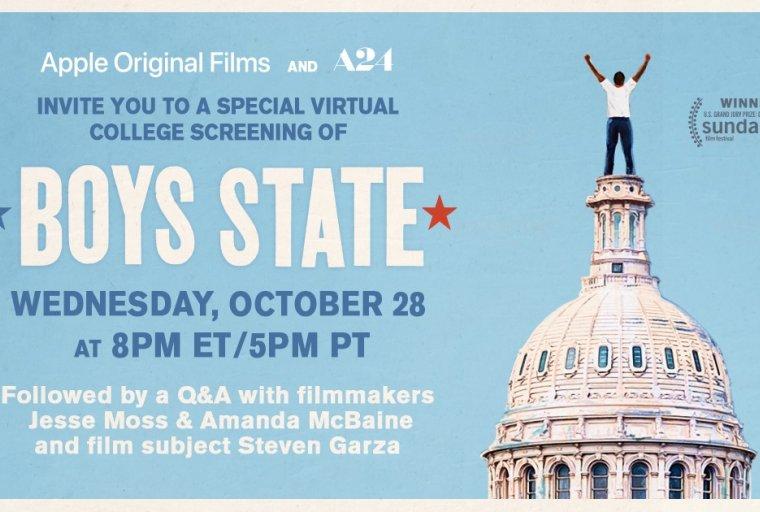 Boys State Screening Poster