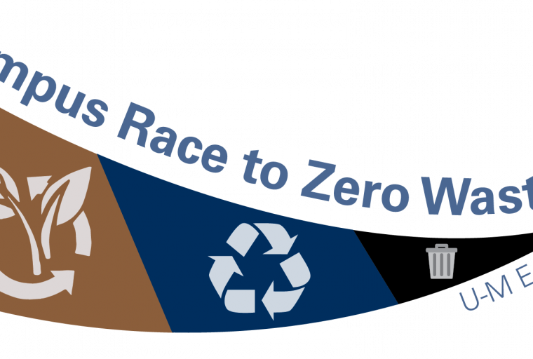 Campus Race to Zero Waste: U-M Edition Logo