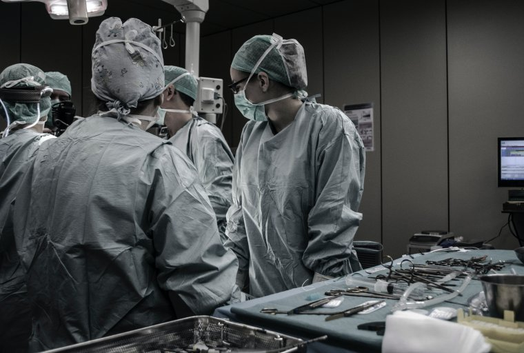 Surgery Stock Photo