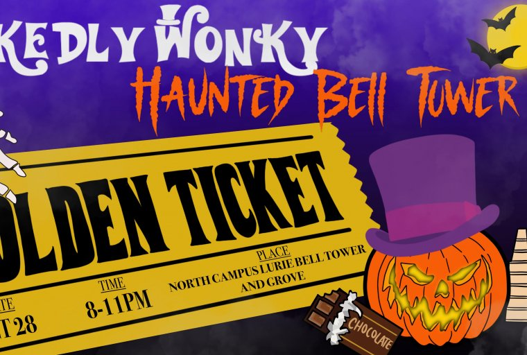 Wickedly Wonky Haunted Bell Tower