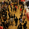 Photo of students and organizations at Fall Career Expo