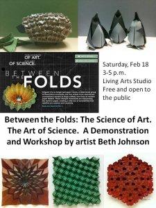 flyer for origami workshop