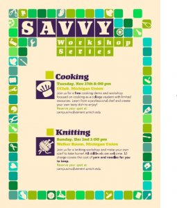 Savvy Workshop Series: Cooking