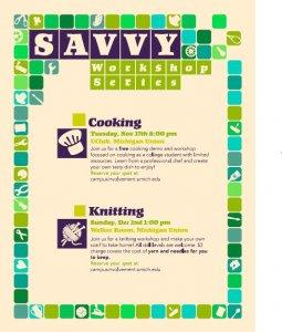 Savvy Workshop Series: Knitting