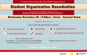 Student Organization Roundtables