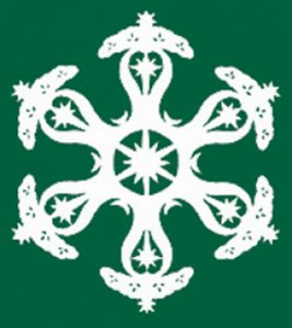 Garden of Eden & Tree of Life: Snowflake Paper Cuttings by Dr. Thomas L. Clark