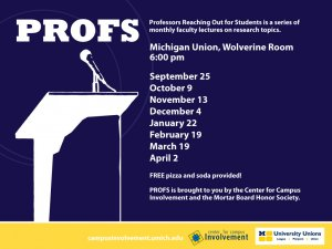 PROFS Lecture Series