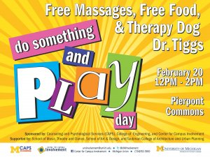 Do Something & Play Day Flyer