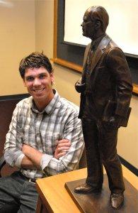 J Brett Gill, sculptor