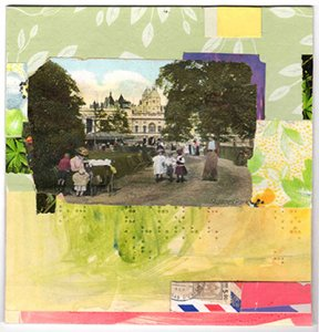 Reconstructed Landscapes: Collage by Cheryl Dawdy