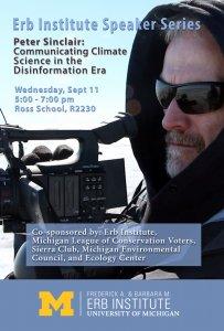 Peter Sinclair / Erb Institute Speaker Series