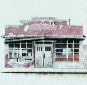 Snap Line on Detroit: Ink on Rag Paper by Margi Weir