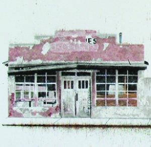 Snap Line on Detroit: Ink on Rag Paper by Margi Weir