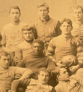 George Jewett, the first African American to play varsity football at Michigan,