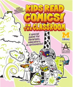 Kids Read Comics! promotional poster