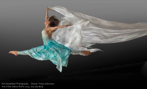 Patty Solorzano in Into the Wind. Photo by Kirk Donaldson
