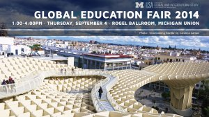 Global Education Fair 2014