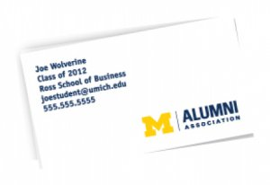 Free business cards happening michigan student business cards colourmoves