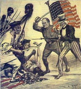 Boxer Rebellion Political Cartoon, 1900