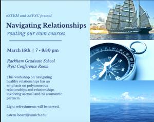 Navigating Relationships flyer