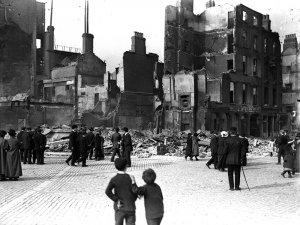 O'Connell Street, Dublin, 1916