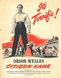 Original 1941 exhibit poster for Citizen Kane