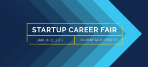 CFE Startup Career Fair, Jan. 9-12