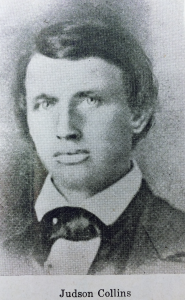 Judson Collins, one of the first U-M students.
