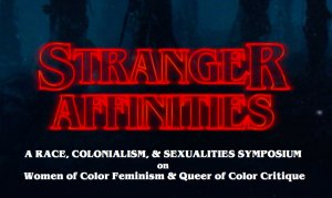 """Stranger Affinities"" graphic"