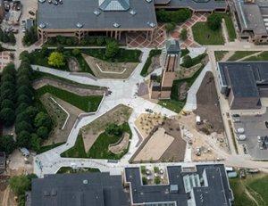 Grove Aerial View U-M Engineering