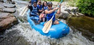 Rafting the cascades