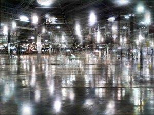 Blurred Lights, Ernestine Ruben at Willow Run