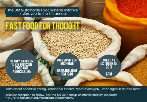 fast food for thought flyer