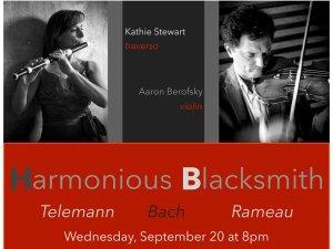Faculty Recital: Joseph Gascho, harpsichord and Aaron Berofsky, violin