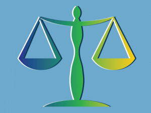 image of scales of justice logo