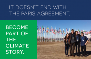 It doesn't end with the Paris Agreement. Become part of the climate story.